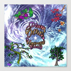 Plum Wild Universe Child Canvas Print