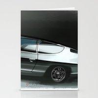 lamborghini Stationery Cards featuring Lamborghini Espada by Vadim Artemyev