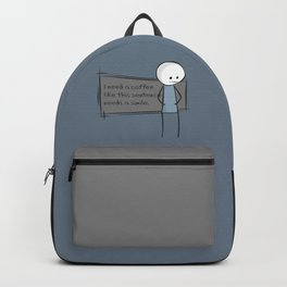 Needs a Simile Backpack