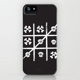 Skull + Bones iPhone Case