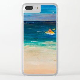 My Day out Clear iPhone Case