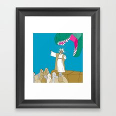 Jesus, Etc. Framed Art Print