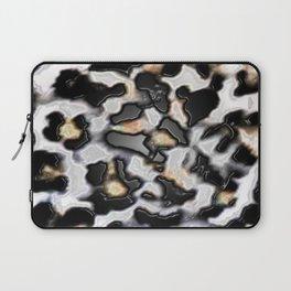 Faux Plastic Cheetah Design Laptop Sleeve