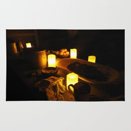 Kitchen by Candlelight Rug