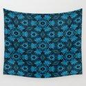 Black and Blue String Art 4406 by celestesheffey