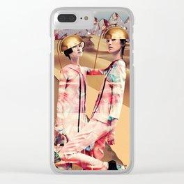 OriginalPrints Blossom Oriental Express Clear iPhone Case