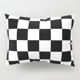 Black White Checker Pillow Sham