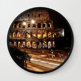 Roma, Colosseo   Rome, colosseum Wall Clock
