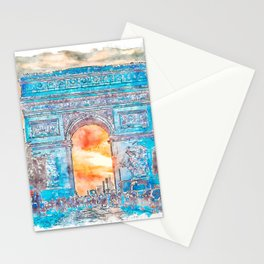 Paris Panorama Stationery Cards
