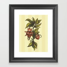 Vintage Flower (2) Framed Art Print