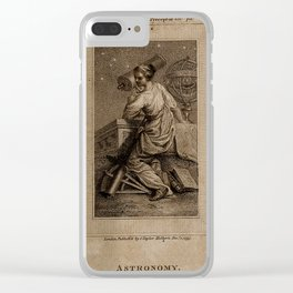 Allegory of Astronomy, C.N. Cochin the Younger (1773) Clear iPhone Case