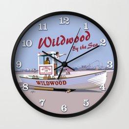 Wildwood Beach Patrol Wall Clock