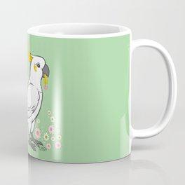 Fluffy The Sulphur Crested Cockatoo Coffee Mug