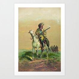 Buffalo Bill Cody - The Scout Art Print