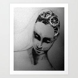 Soulless Melanie Art Print