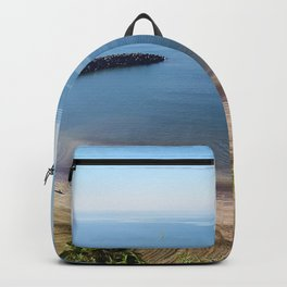 Playa del Inglés in Gran Canária (Spain) Backpack