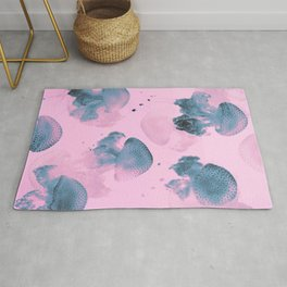 Candy Jellyfishes Rug