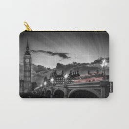 LONDON Westminster Bridge at Sunset | Colorkey Carry-All Pouch