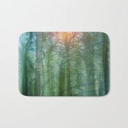forest morning dream Bath Mat