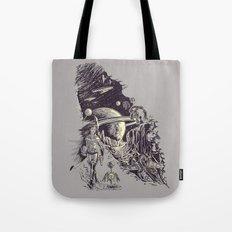 Stranded on Alpha Centauri Tote Bag