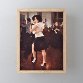 Tango Reunion Framed Mini Art Print