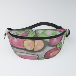 Watermelons And Apples Fanny Pack