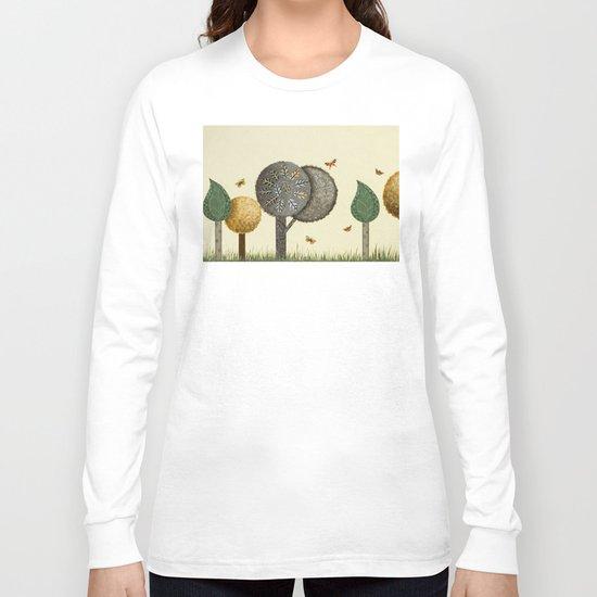 Autumn Butterflies Long Sleeve T-shirt