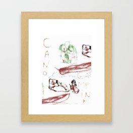 cano Framed Art Print