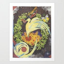 Unfolding Wisdom Art Print