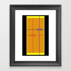 Test Phone Template Framed Art Print