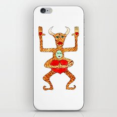 the bull is not seated iPhone & iPod Skin