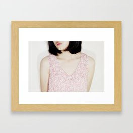 headless Framed Art Print