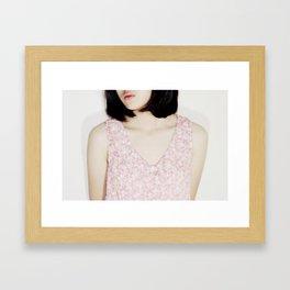 headless Framed Art Print
