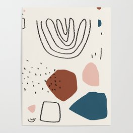 Ocean breathes salty Poster