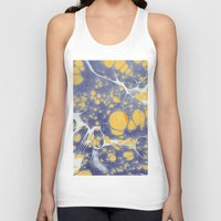 be happy Tank Tops featuring Happy by Dominique Gwerder