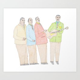 The Mills Bros Art Print