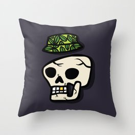 Style after death Throw Pillow