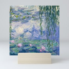 "Claude Monet ""Water Lilies(Nymphéas)"" (9) 1916–19.jpg Mini Art Print"