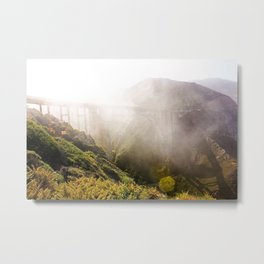 Foggy Day in the Bay Metal Print