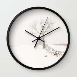 Winter Calm Wall Clock