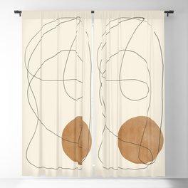 Minimalist Abstract 39 Blackout Curtain