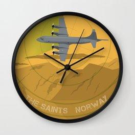 The Saints 333 sqn RNoAF Wall Clock