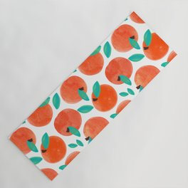Coral Fruit #painting #pattern Yoga Mat