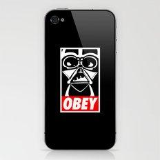 Obey Darth Vader - Star Wars iPhone & iPod Skin