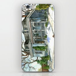 A Cozy Winter Cottage iPhone Skin
