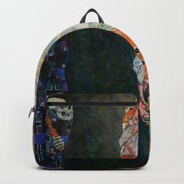 """Gustav Klimt """"Death and Life"""" Backpack"""