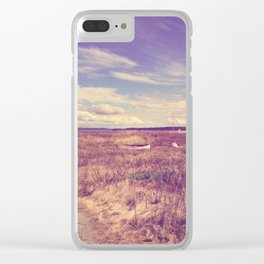 Bygone Days Clear iPhone Case