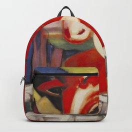 """Franz Marc """"The World Cow"""" Backpack"""