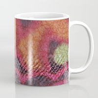 stained glass Mugs featuring Stained Glass by Stephen Linhart