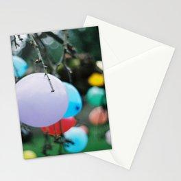 balloon tree Stationery Cards